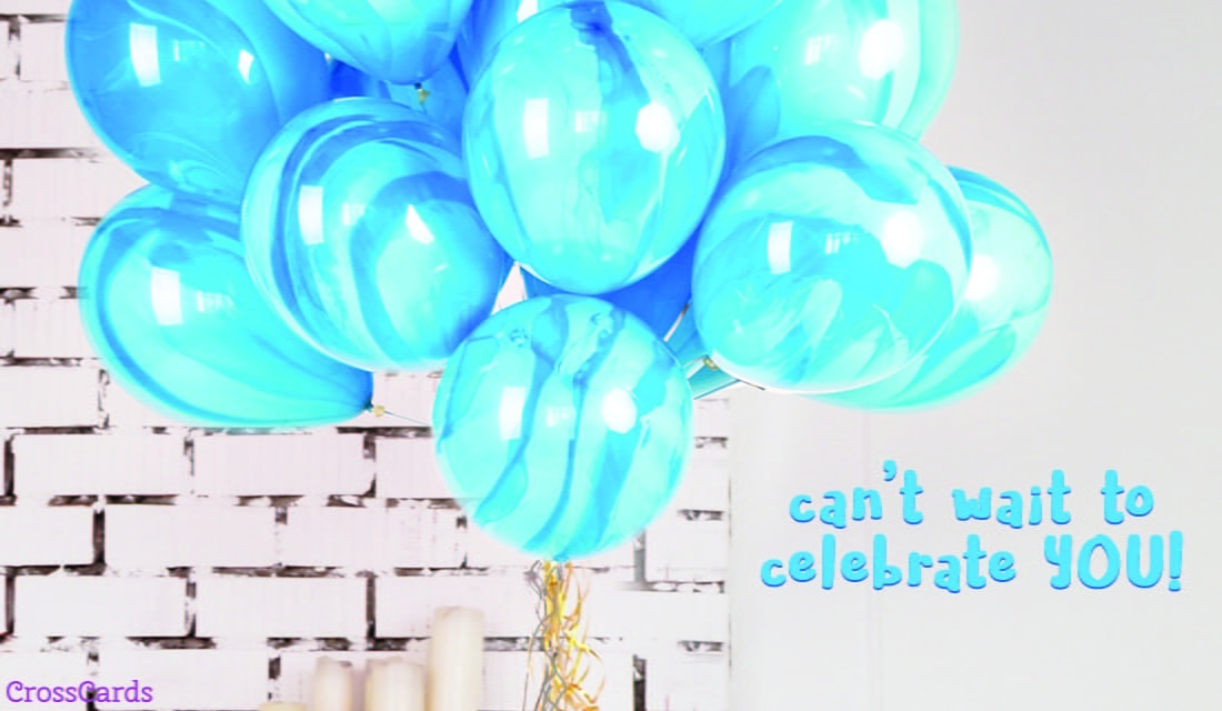 Can't Wait to Celebrate You! ecard, online card