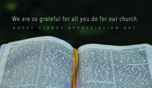Clergy appreciation day ecards free email greeting cards online