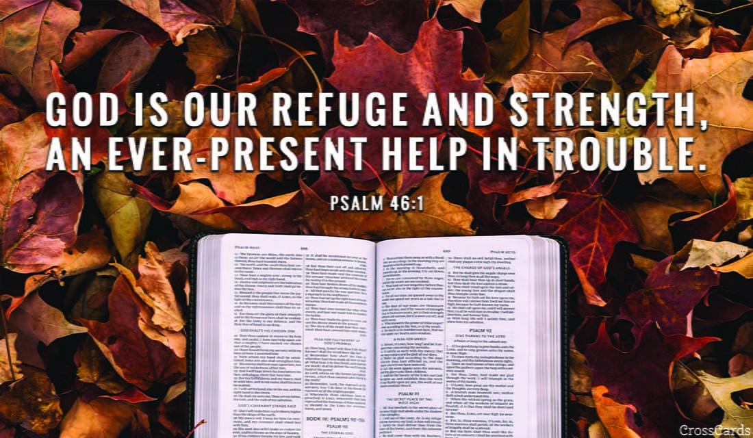 Psalm 46:1 ecard, online card
