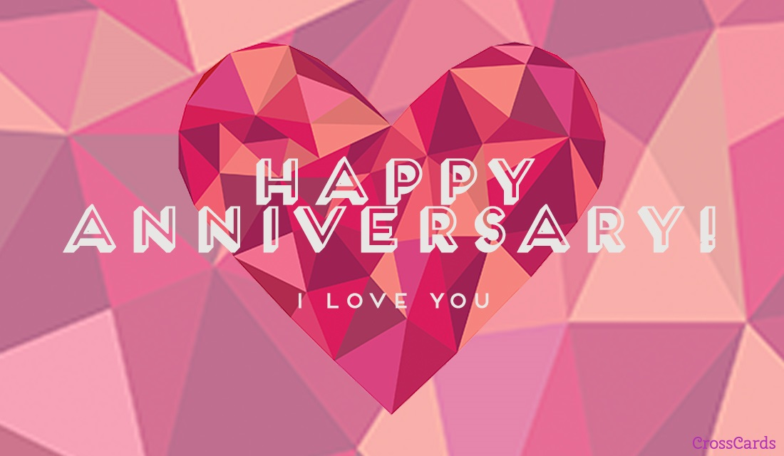 Happy Anniversary ecard, online card