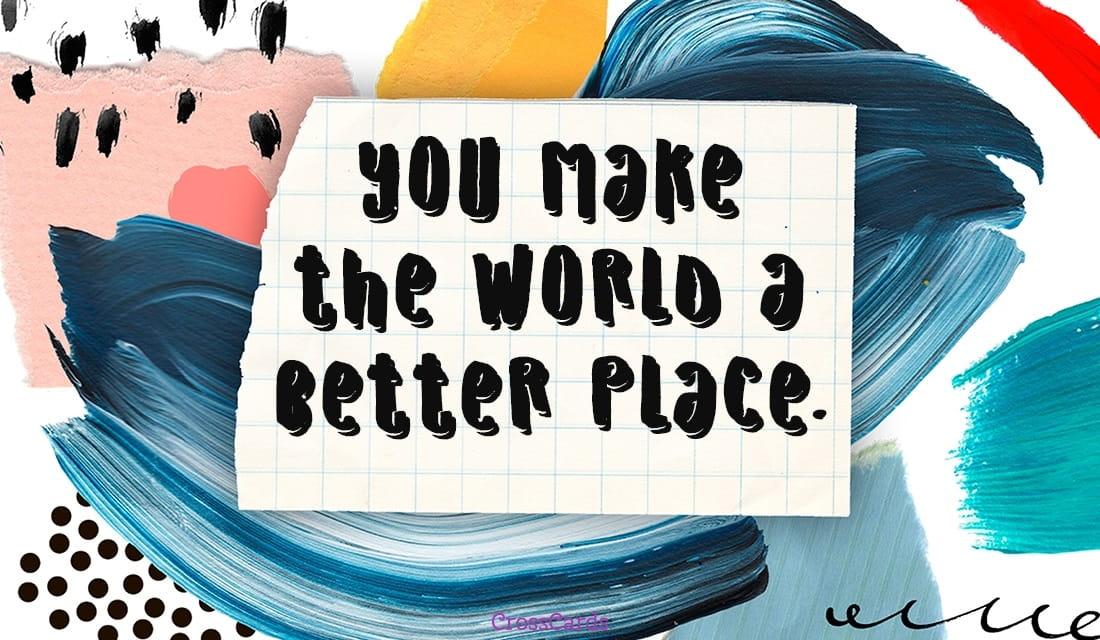 A Better Place ecard, online card