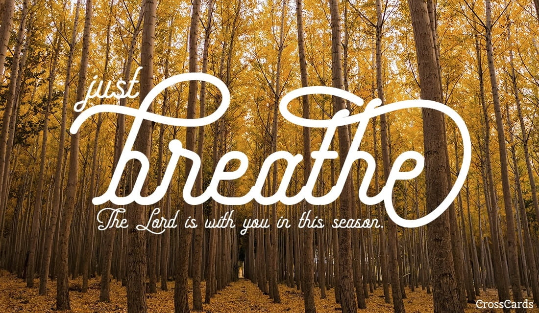 Just Breathe ecard, online card