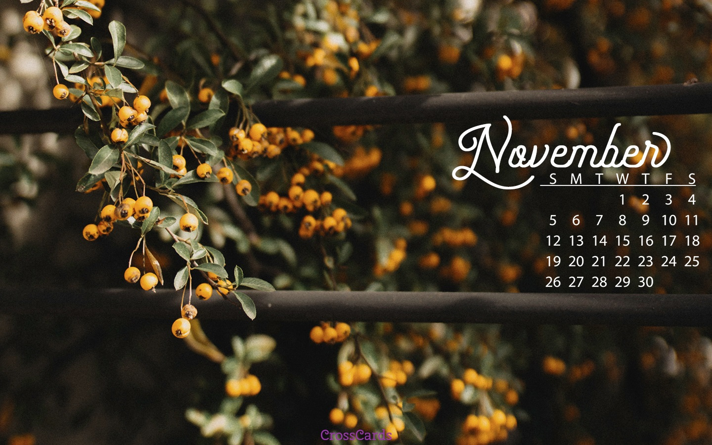 november desktop wallpaper
