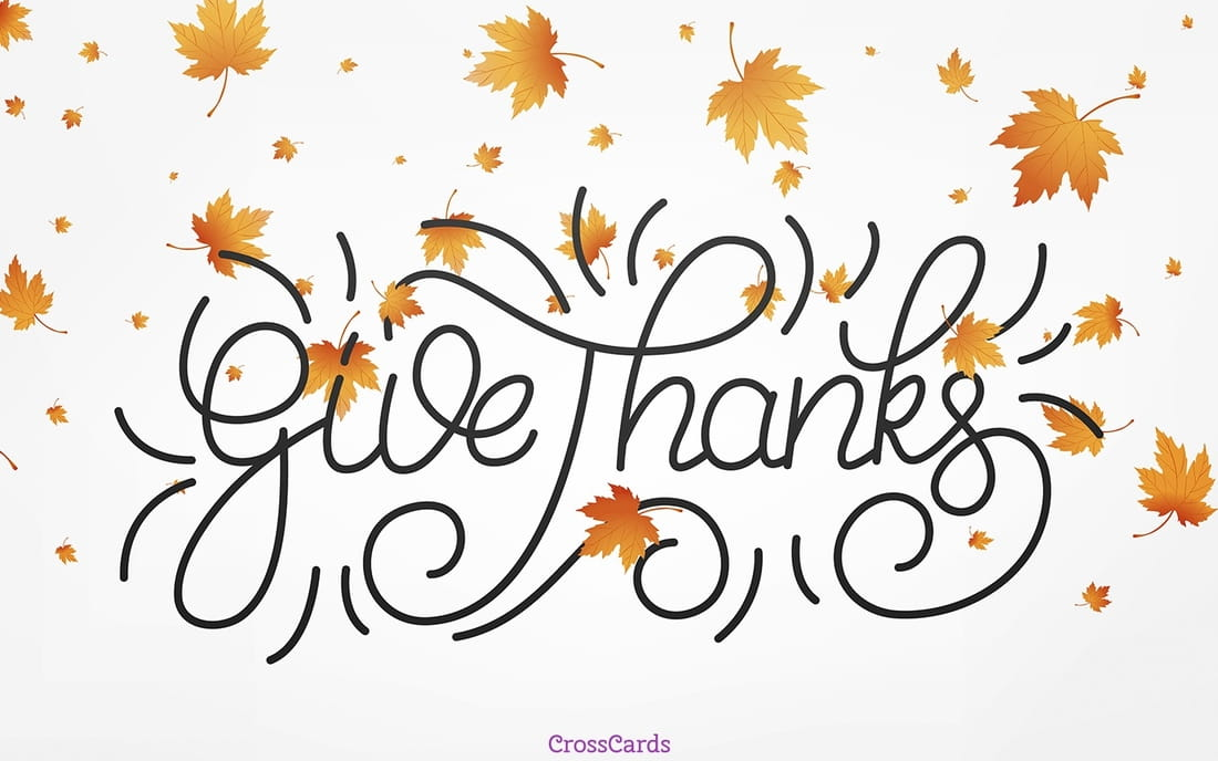 give thanks ecard online card
