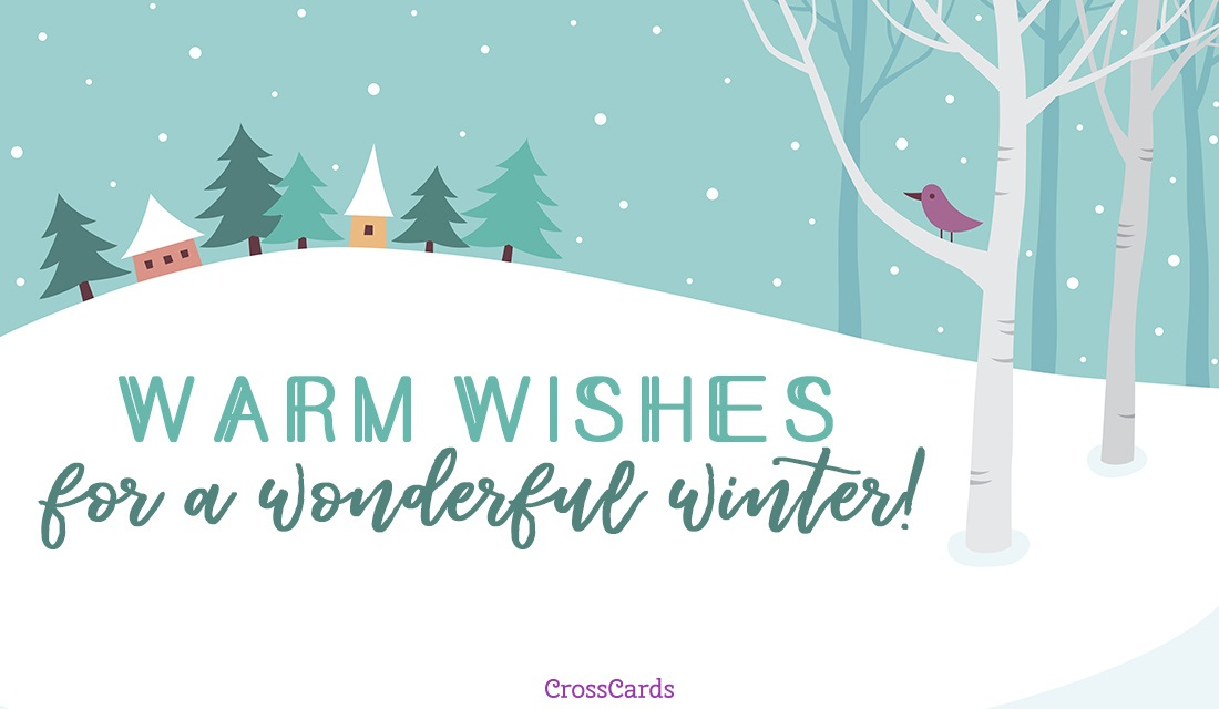 Warm wishes ecard free winter cards online warm wishes ecard online card m4hsunfo