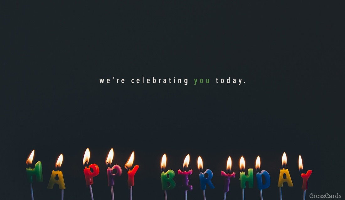 Celebrating You Ecard Online Card