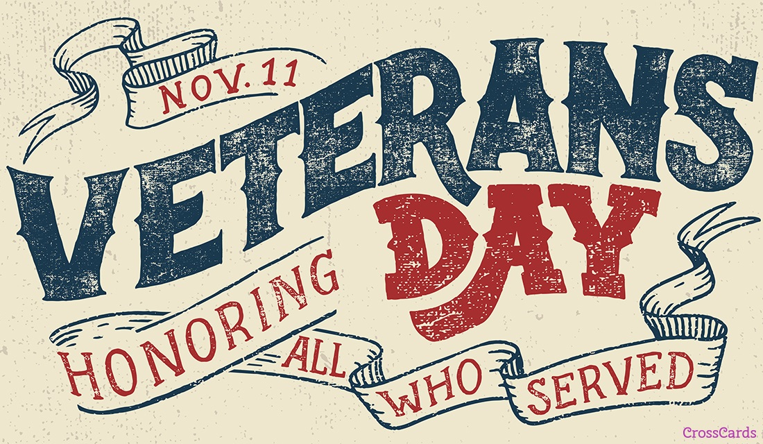 Veterans Day ecard, online card