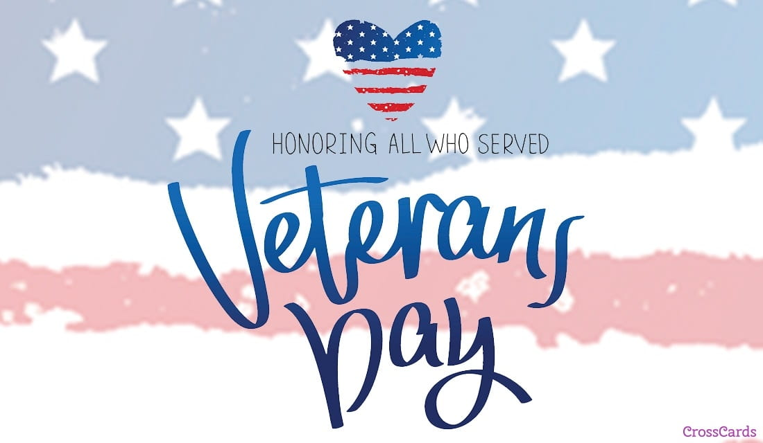 Honoring Those Who Served ecard, online card