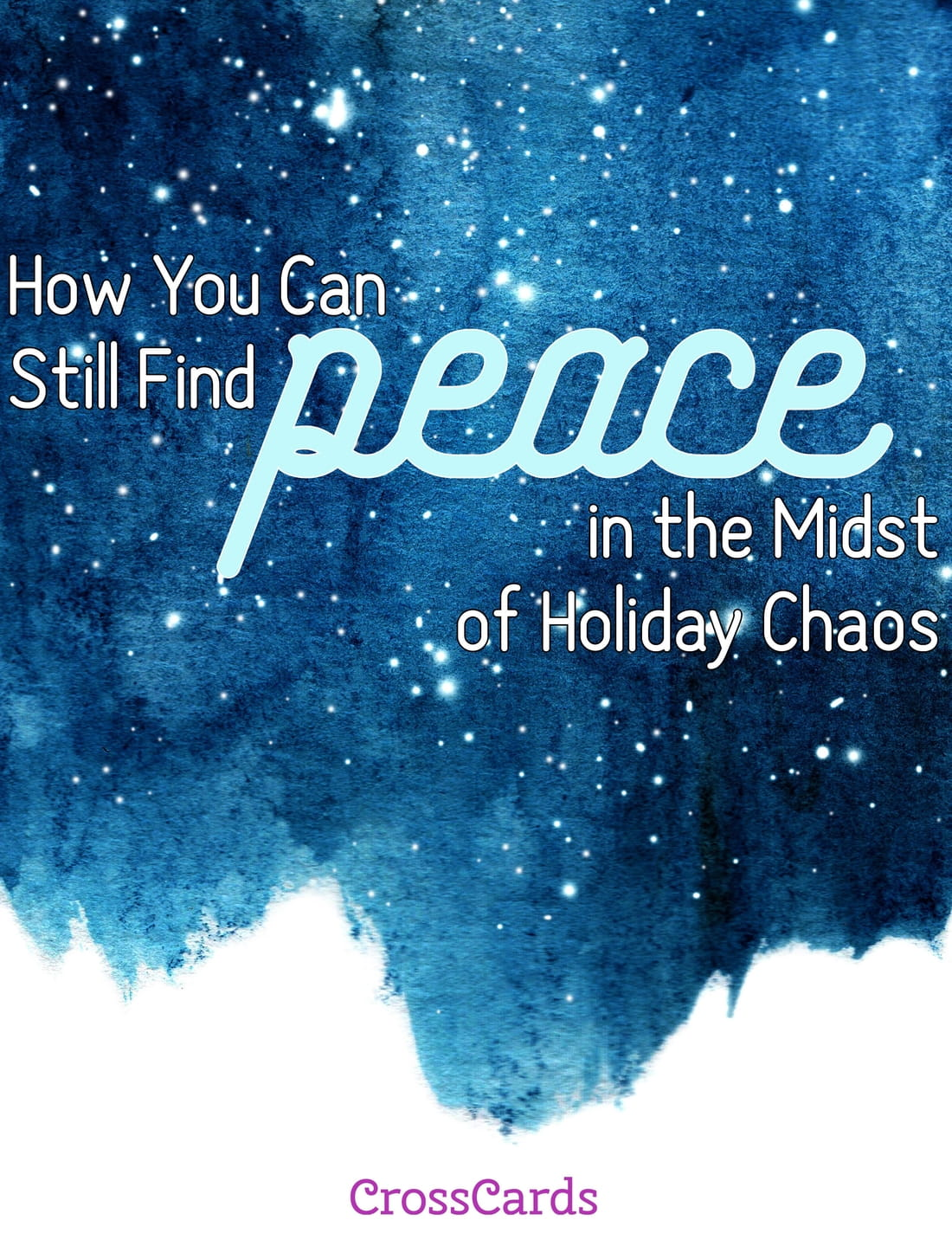 How You Can Still Find Peace in the Midst of Holiday Chaos - Free Printable