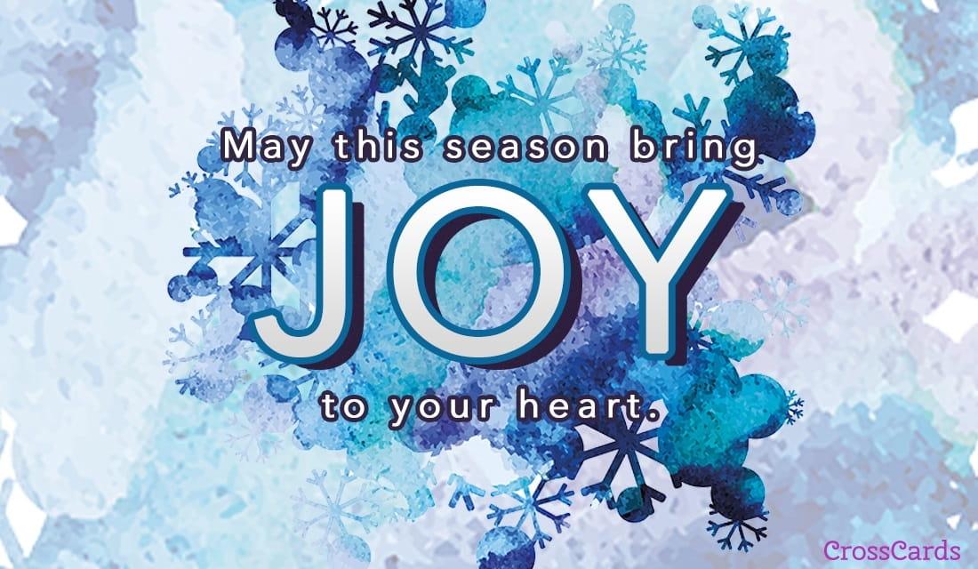 Joy to Your Heart ecard, online card