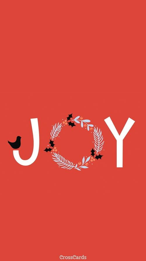 Joy mobile phone wallpaper