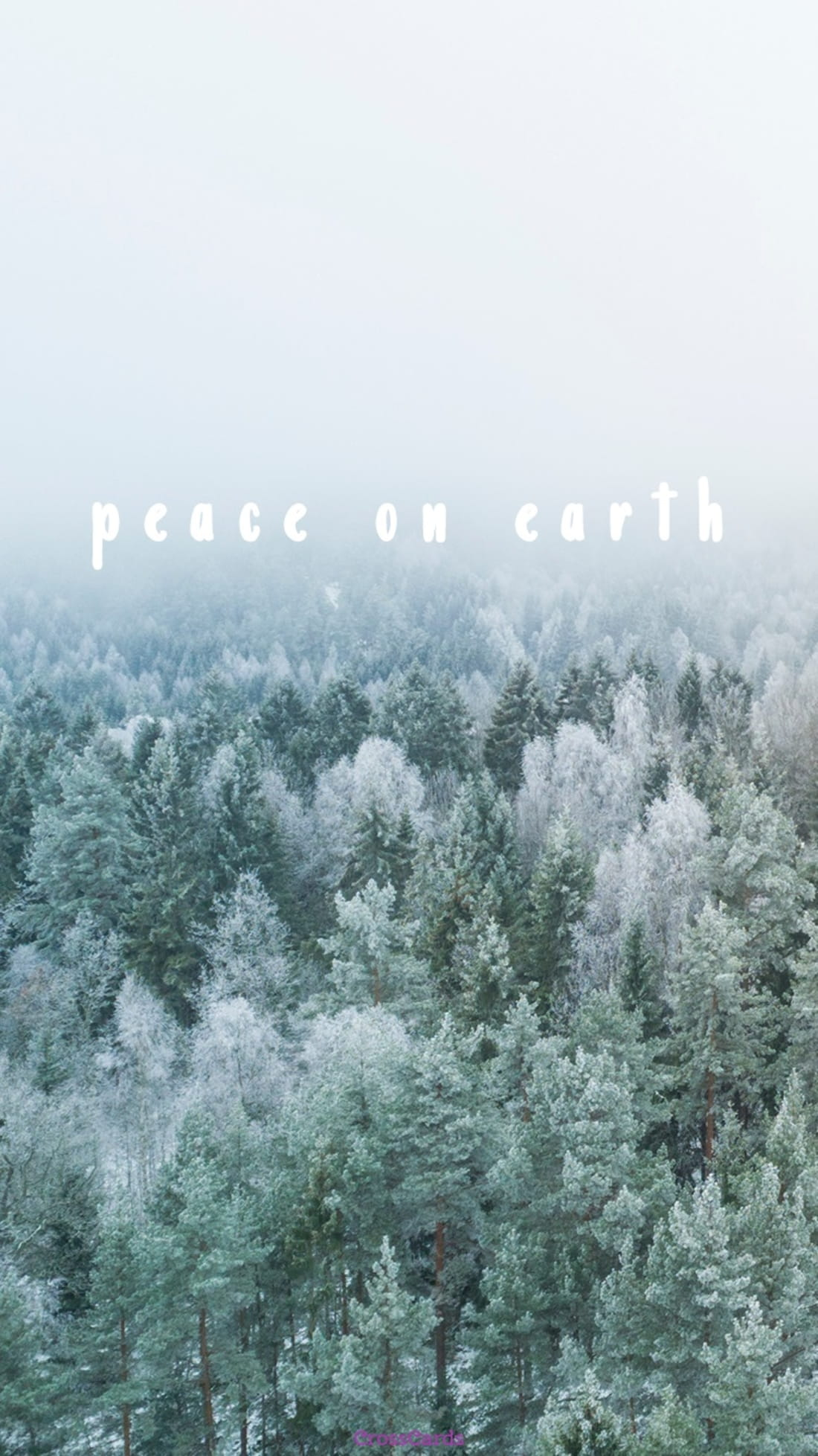 Peace on Earth ecard, online card