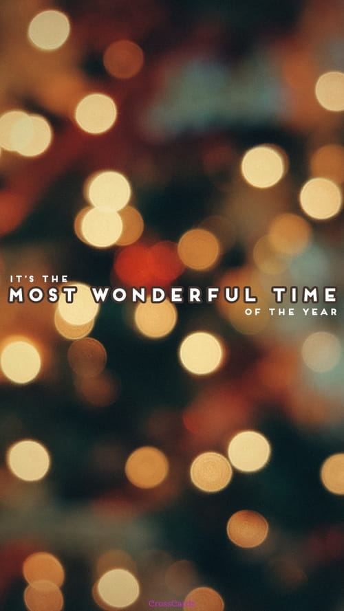 Most Wonderful Time mobile phone wallpaper