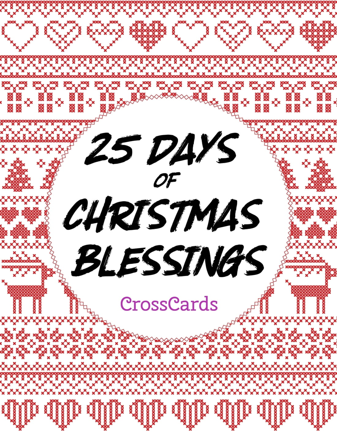 25 Days of Christmas Blessings