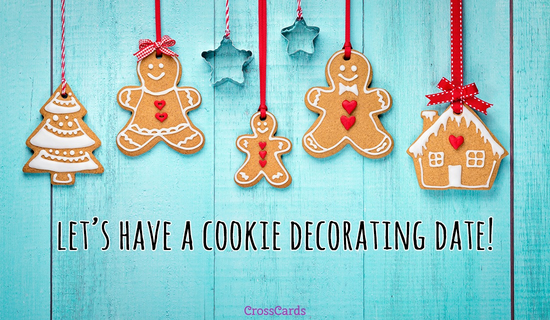Happy Gingerbread Decorating Day! (12/9) ecard, online card