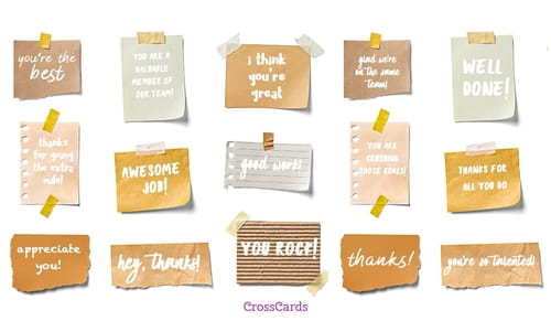 Free business greetings ecards email personalized christian cards coworker notes reheart Image collections