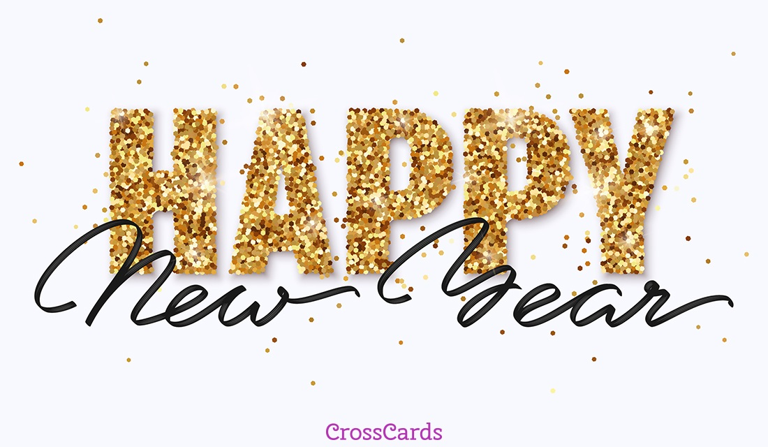 Greeting Design For New Year