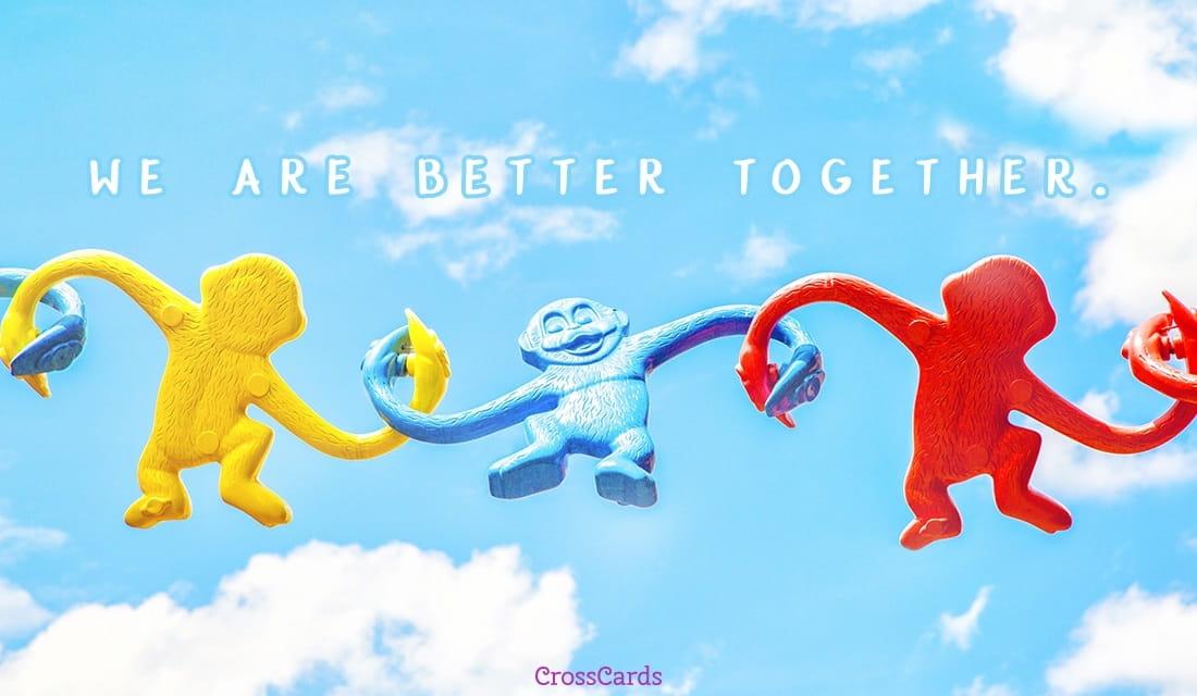 Better Together ecard, online card