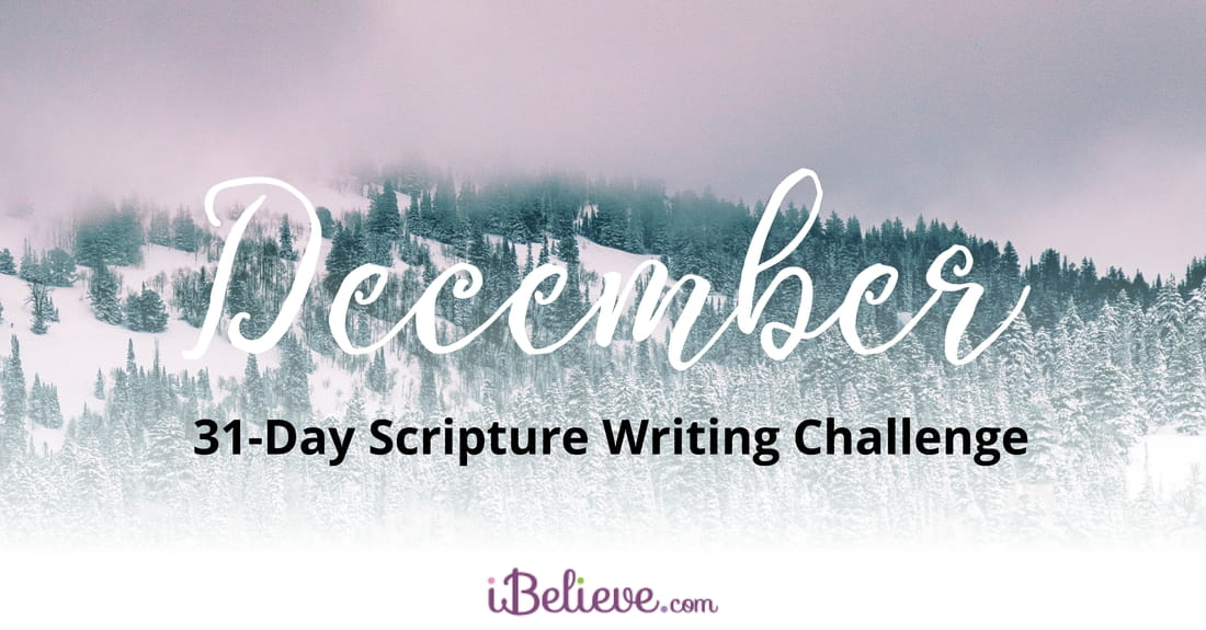 December 31-Day Scripture Writing Challenge