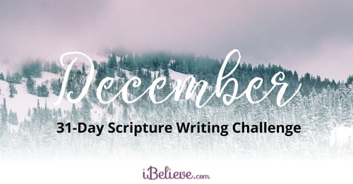 December 31-Day Scripture Writing Challenge