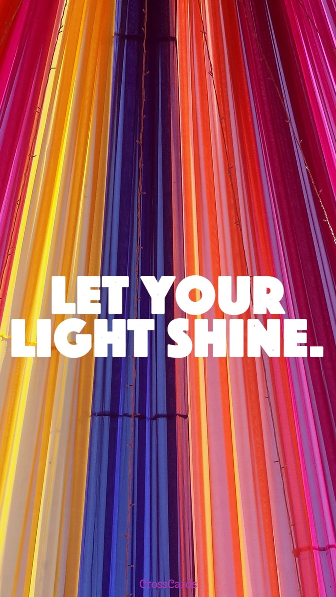 Let Your Light Shine ecard, online card