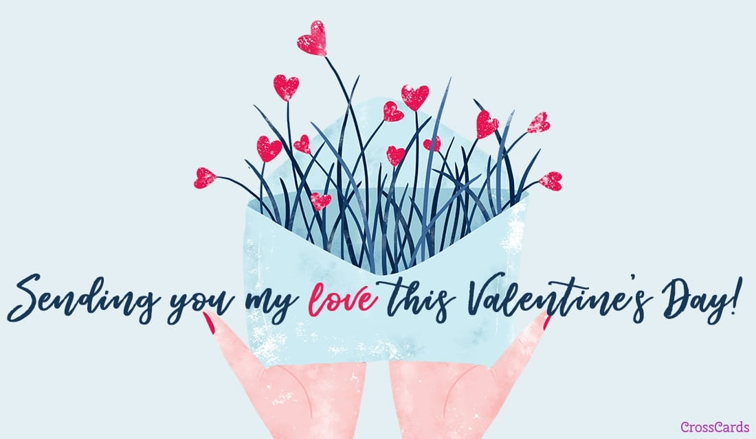 Valentines day ecards beautiful free email greeting cards online sending you my love m4hsunfo