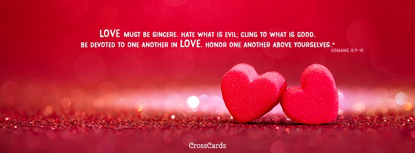 Romans 12:9-10