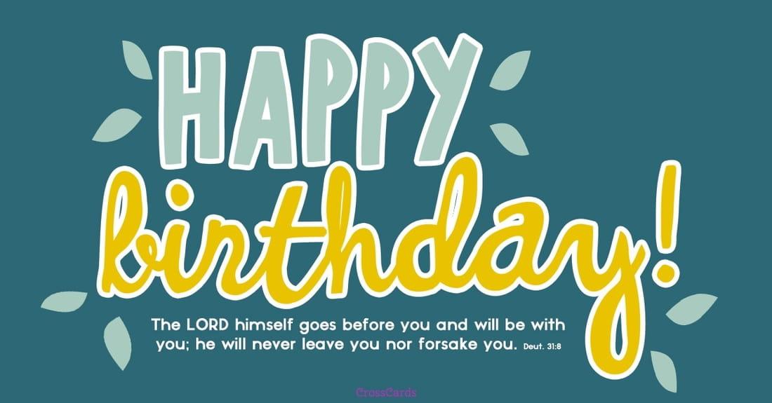 Happy Birthday! ecard, online card
