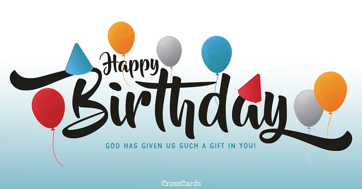 God Has Given Us Such a Gift ecard, online card