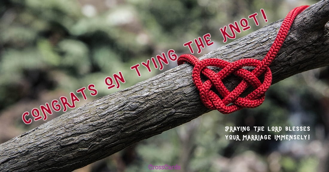 Tying the Knot ecard, online card