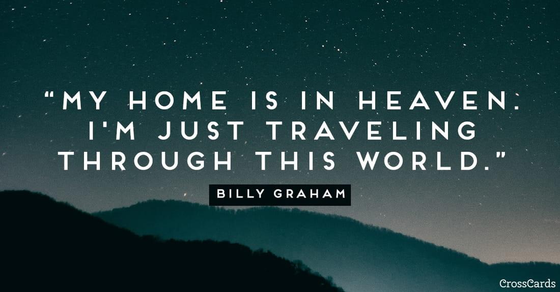 Heaven is My Home ecard, online card
