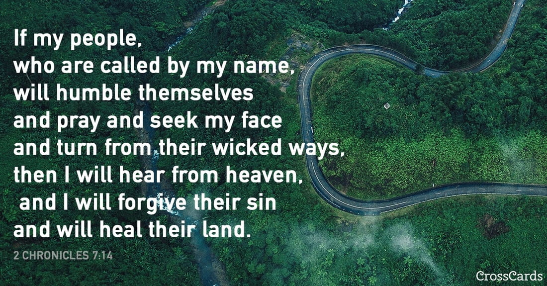 2 Chronicles 7:14 ecard, online card