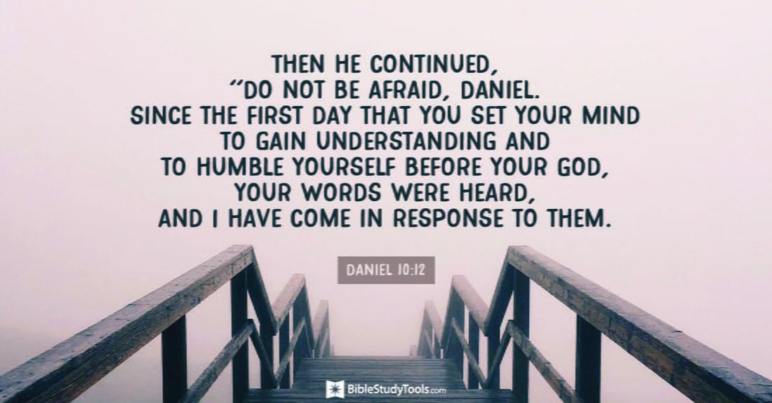 Daniel 10:12 ecard, online card