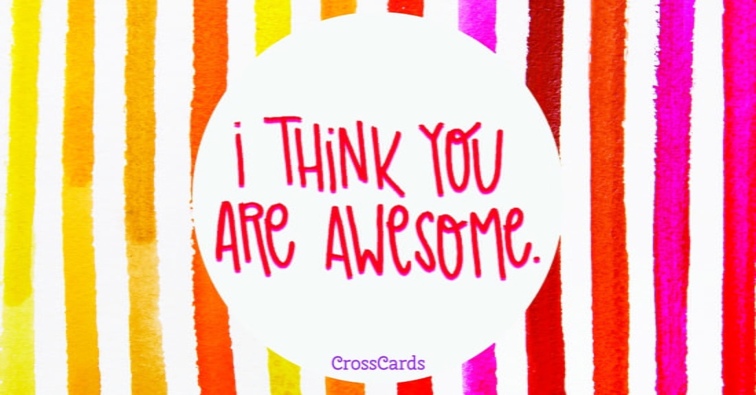 Awesome ecard, online card