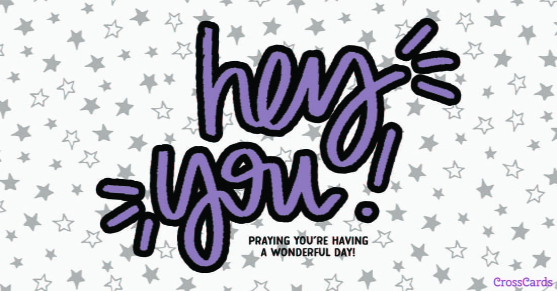 Hey You! ecard, online card