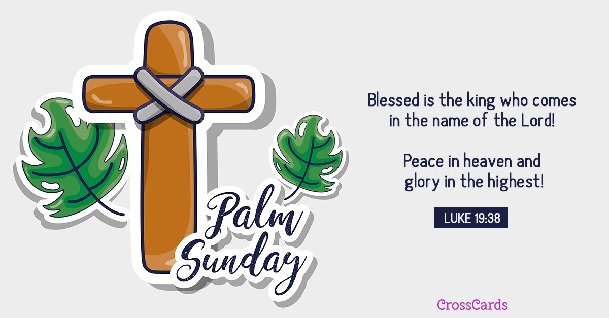 Happy Palm Sunday! ecard, online card