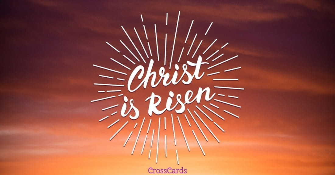 Free christian easter ecards beautiful online greeting cards home ecards holidays easter christ is risen m4hsunfo
