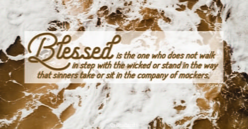 Psalm 1 - NIV Bible - Blessed is the one who does not walk