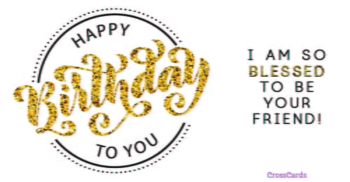 Free birthday ecards the best happy birthday cards online blessed to be your friend bookmarktalkfo
