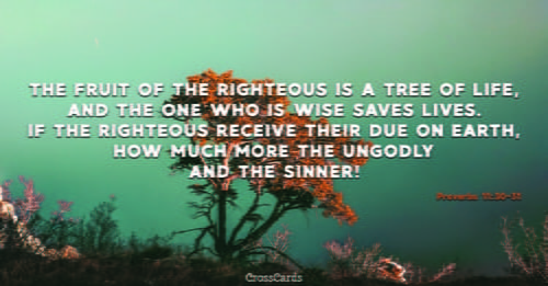 Proverbs 11:30-31 ecard, online card