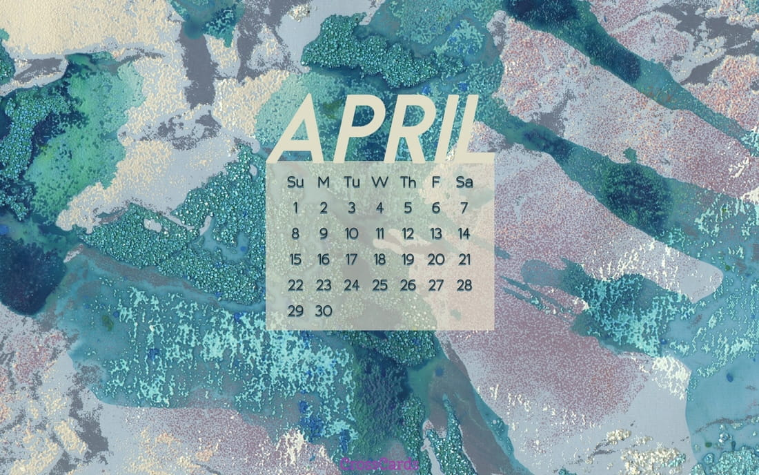 April 2018 - Blues mobile phone wallpaper