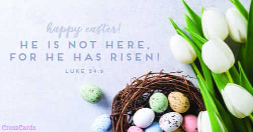 Free christian easter ecards beautiful online greeting cards he has risen m4hsunfo