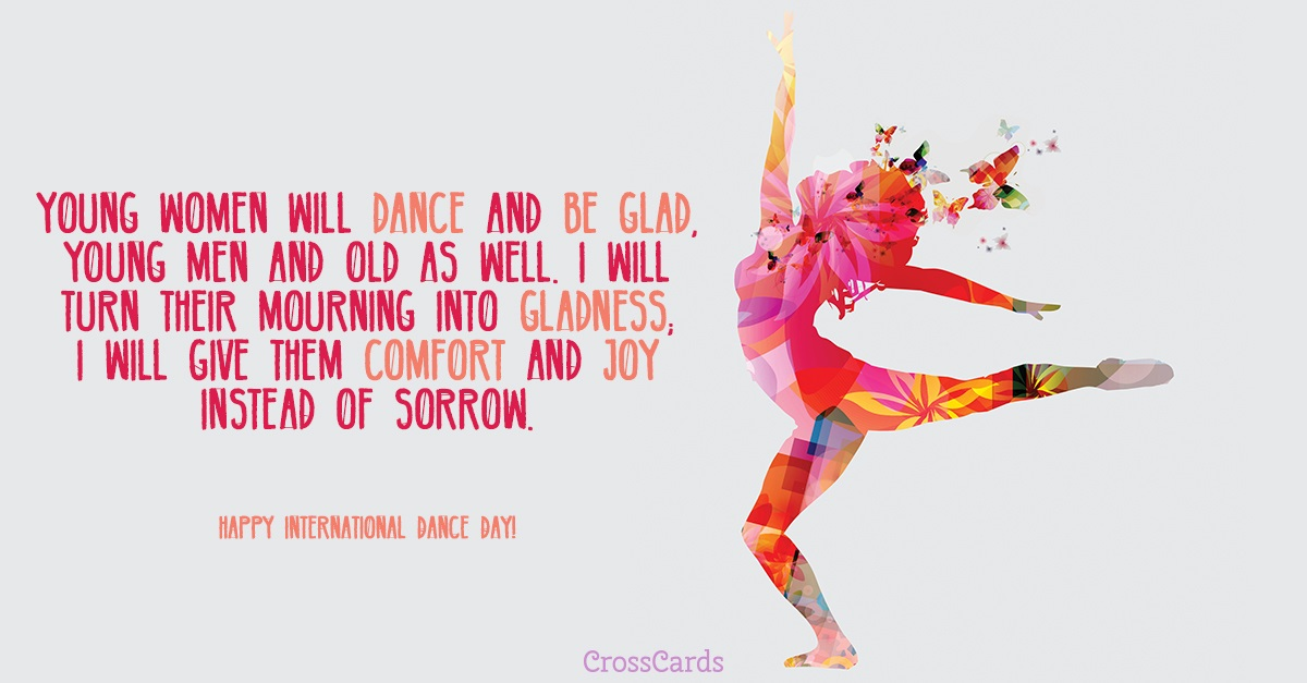 Happy International Dance Day! (4/29) ecard, online card