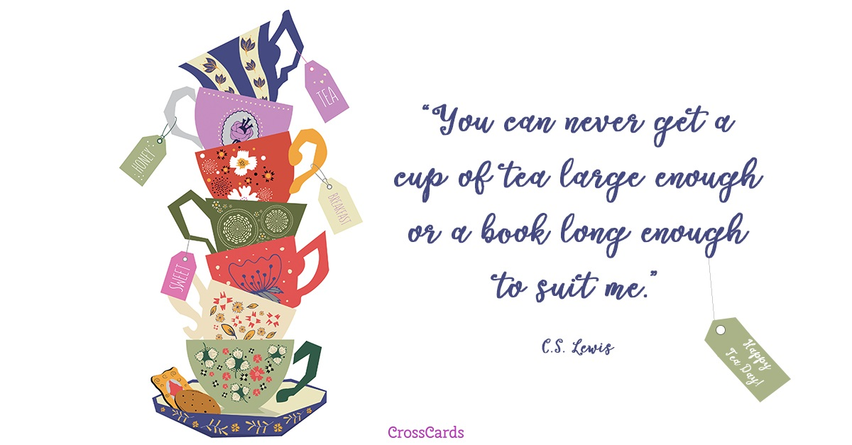 Happy Tea Day! (4/21) ecard, online card