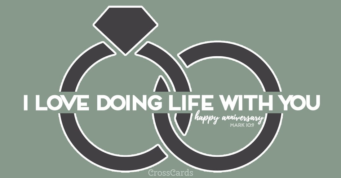 I Love Doing Life with You ecard, online card