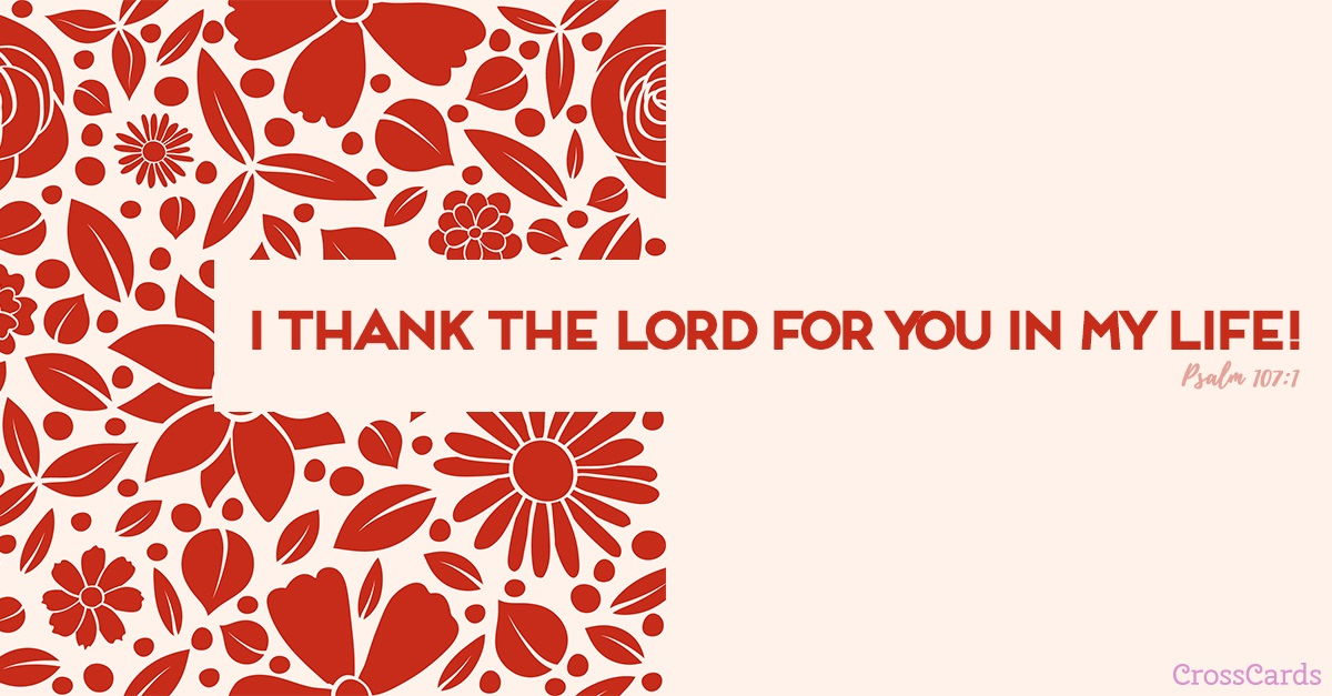 Thank the Lord ecard, online card