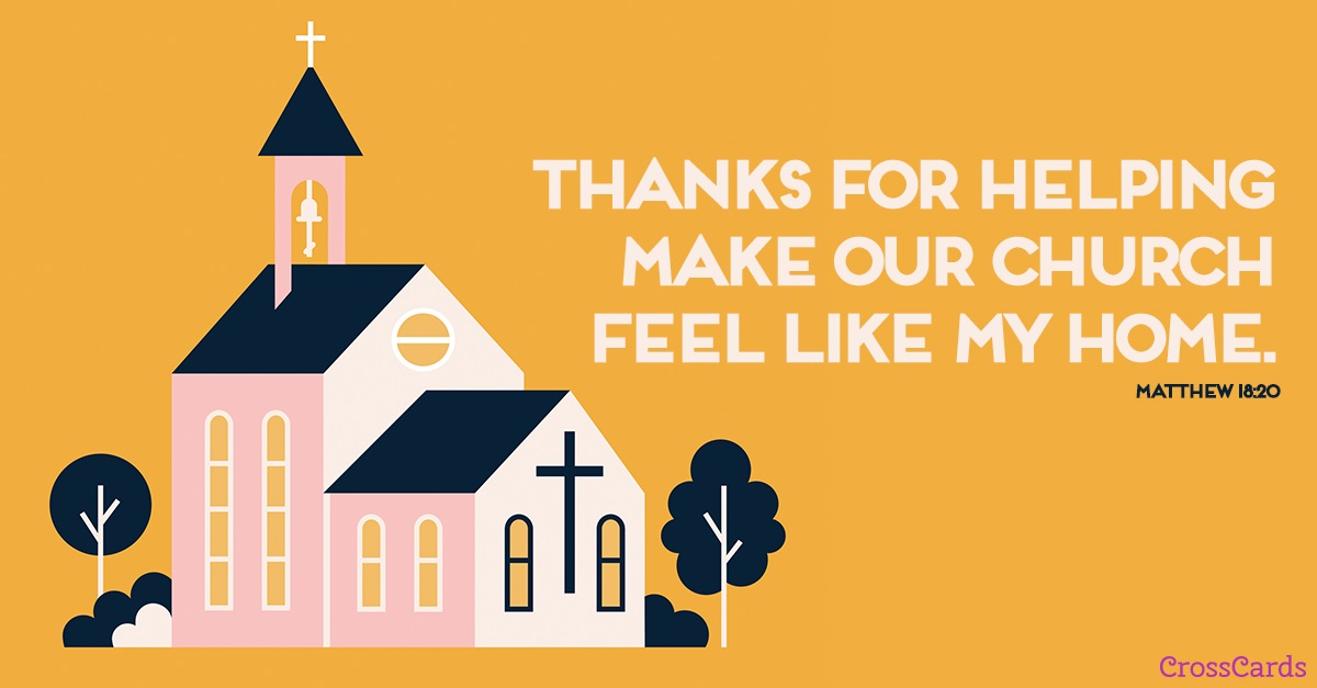 Making Church a Home ecard, online card