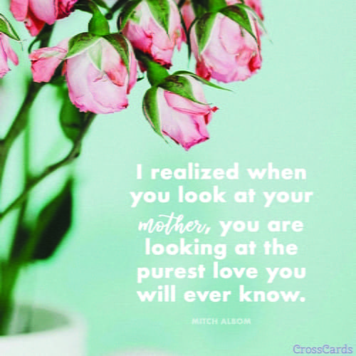 Mothers day ecards beautiful inspiring greeting cards for mom pure love m4hsunfo
