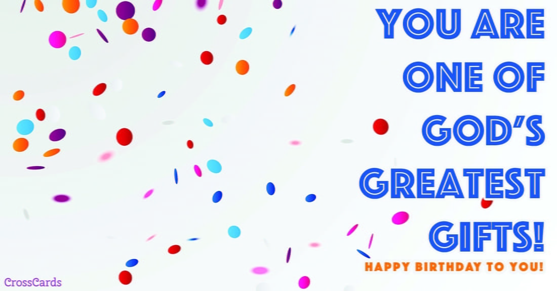 God's Great Gifts ecard, online card