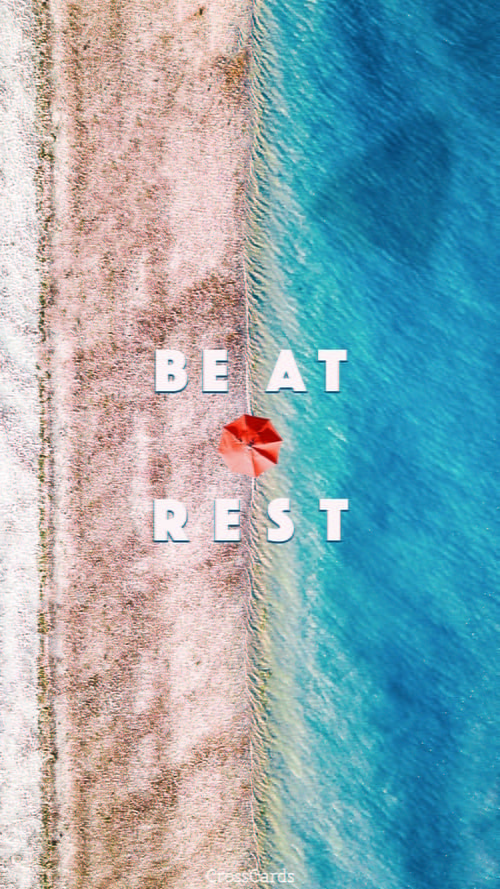 Be At Rest mobile phone wallpaper